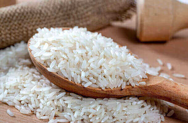 What is Converted rice