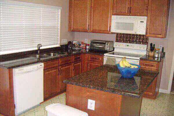 how to fix worn spots on kitchen cabinets ? - Awesome Ideas