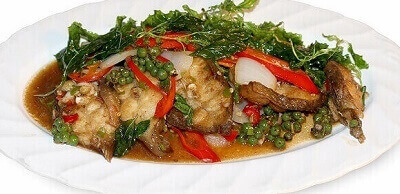 Chicken with pepper and corn stir-fry